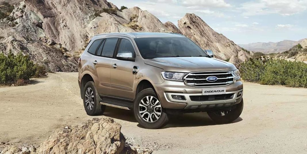 Ford Endeavour wallpaper