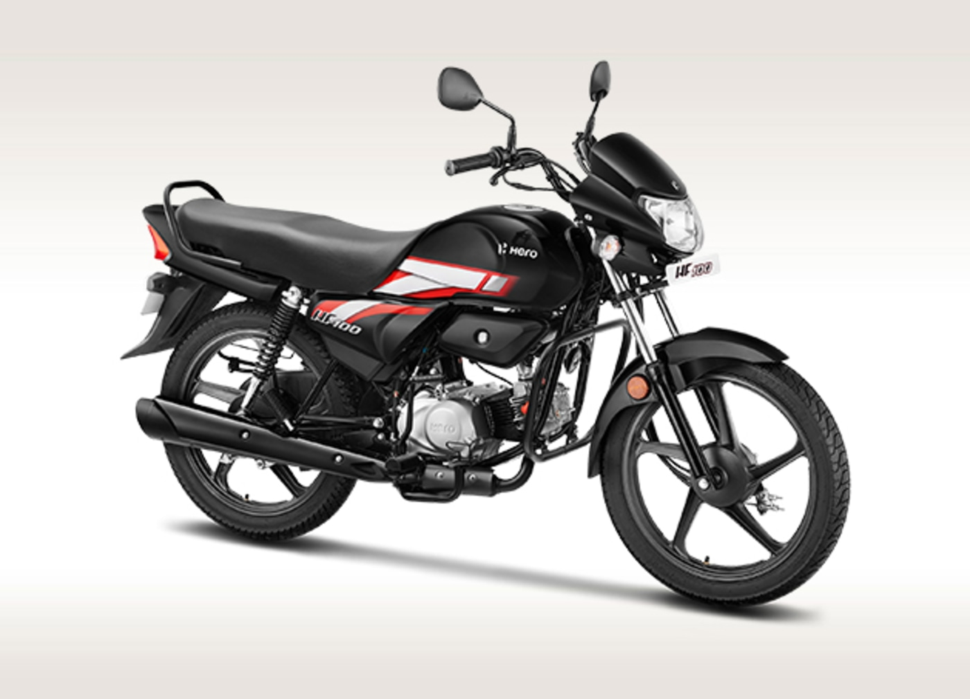 HF 100 Hero Launched At Rs.  49,400 – Most Affordable Hero Bike