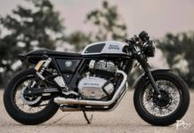 modified Royal Enfield GT650 Thailand 1
