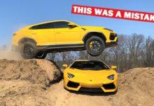 YouTuber Jumped Lamborghini Urus