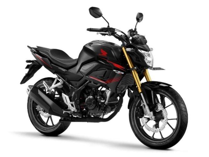 2021 Honda CB150R Streetfire STD Macho Black