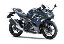2021 Kawasaki Ninja 400 Metal Twilight Blue