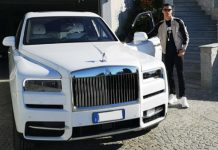 Cristiano Ronaldo Rolls Royce Cullinan