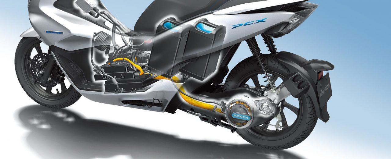 Honda PCX Electric Scooter