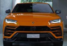 Lamborghini Urus carbon fibre exterior accessories