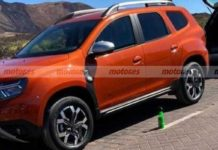 Seven-seater Renault Duster Spied 1