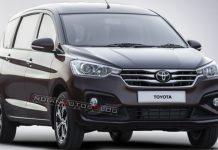 Toyota Ertiga MPV Rendered 1