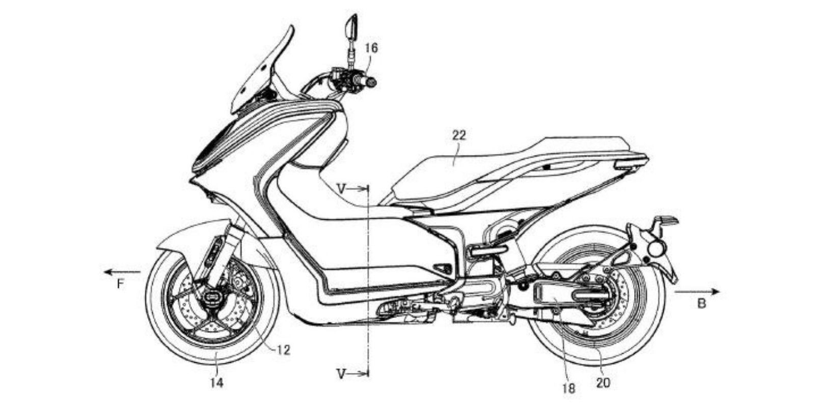 Yamaha e01 patent 1