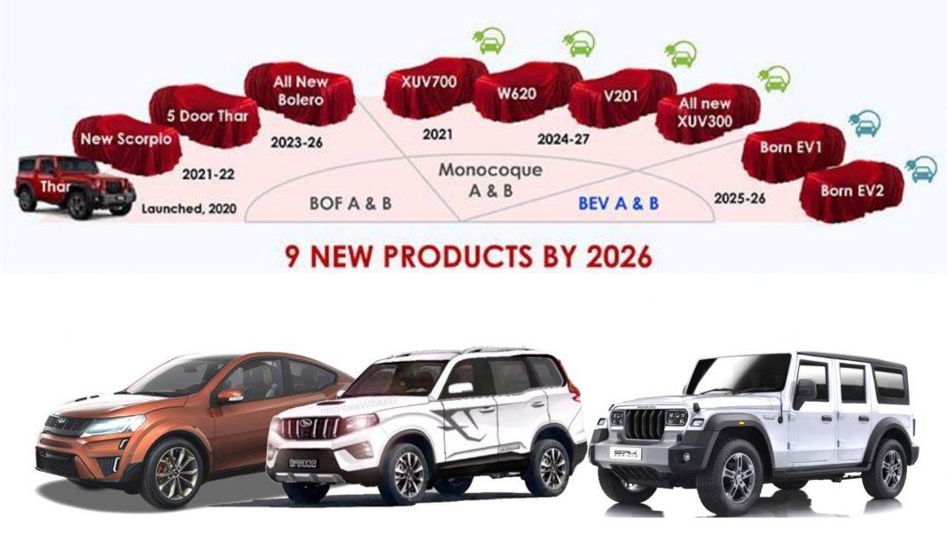 upcoming mahindra car