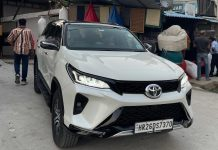 2017 Toyota Fortuner converted to new Legender