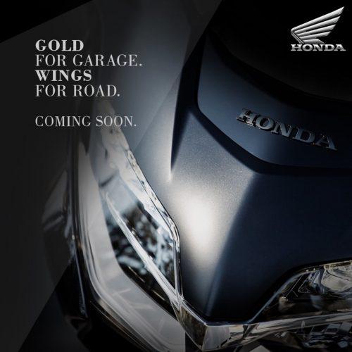 2021 Honda Gold Wing BS6 teaser