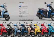 2021 Yamaha Fascino 125 Fi Hybrid With Bluetooth 6