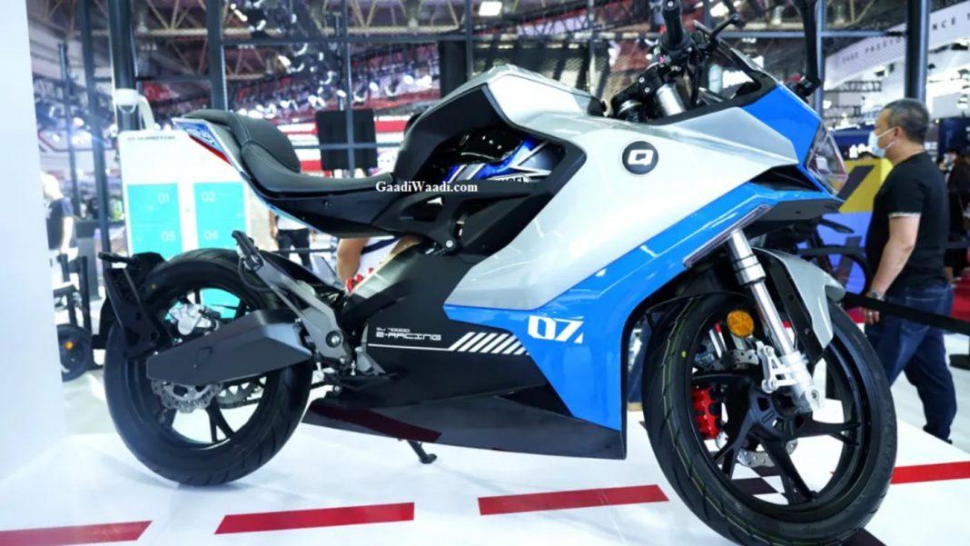 Benelli electric motorcycle Qianjiang QJ7000D 2