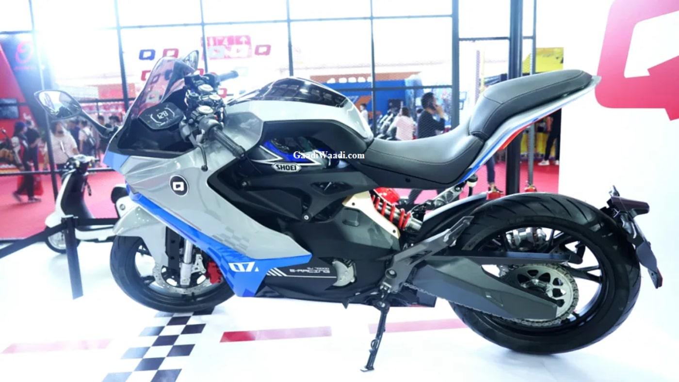 Benelli electric motorcycle Qianjiang QJ7000D 4