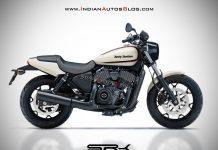 Hero Harley Davidson cruiser rendering 1