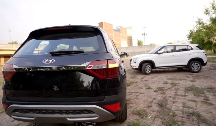 Hyundai Creta vs Alcazar 2