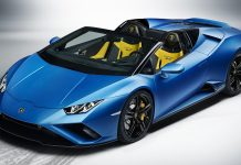 Lamborghini Huracan Evo RWD Spyder front