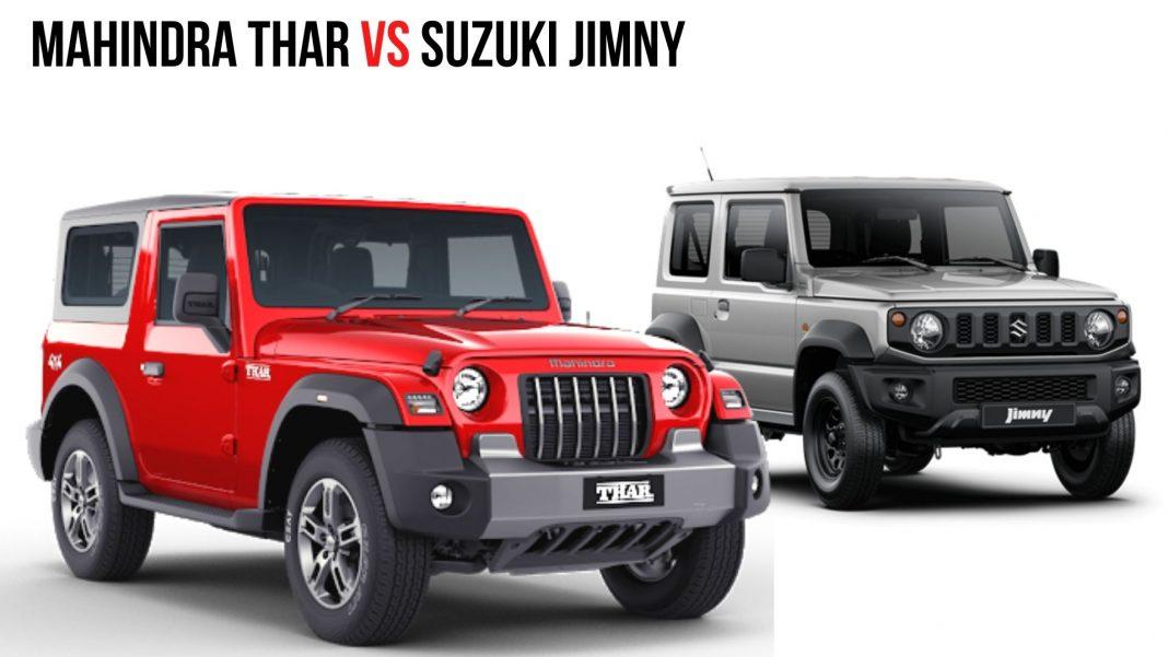 Mahindra Thar Vs Suzuki Jimny