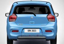 Maruti Suzuki Celerio Rear End Rendered 2021 1