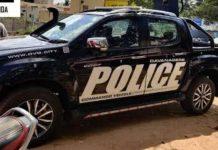 Modified Isuzu D-Max V-Cross Karnataka Police 2
