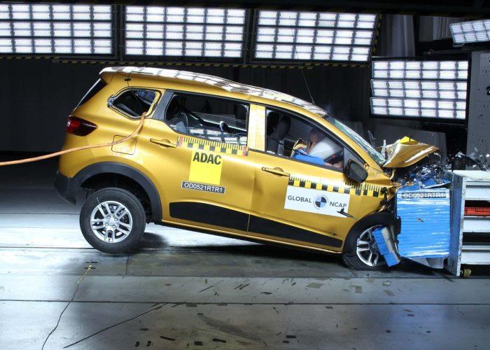 Renault Triber Global NCAP crash test