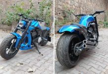 Royal Enfield Classic 350 modified bobber 3