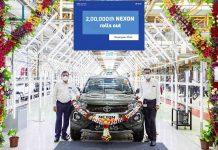 Tata Nexon rolls out 200000th nexon