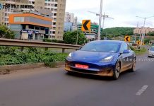 Tesla Model 3 Spied in India