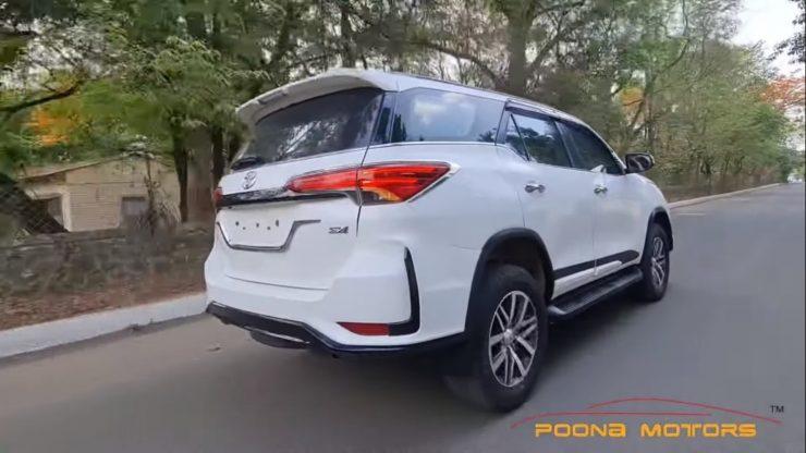 Toyota Fortuner modified into Fortuner Legender 2