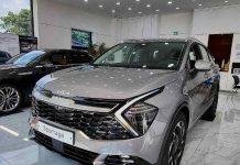 2021 Kia Sportage Front 3 Quarters Dealership