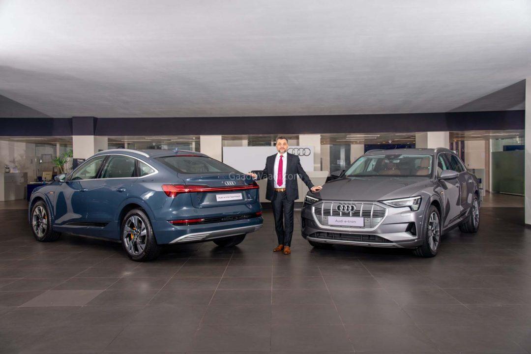 Audi e-tron launched india 1