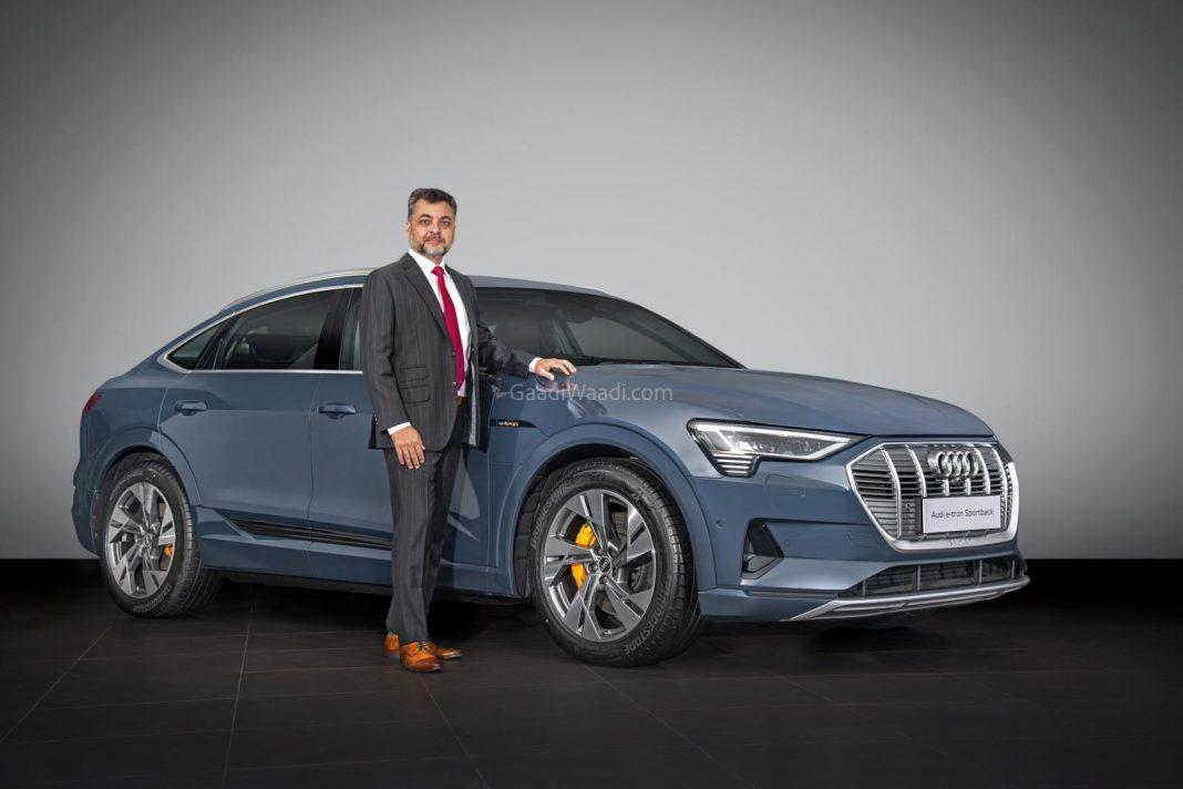 Audi e-tron launched india