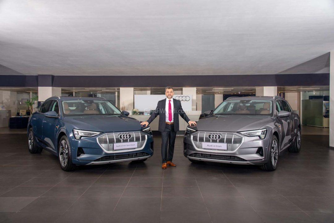Audi e-tron launched india 3