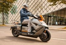 BMW Ce04 electric scooter