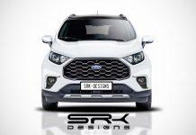 Ford ecosport facelift rendered