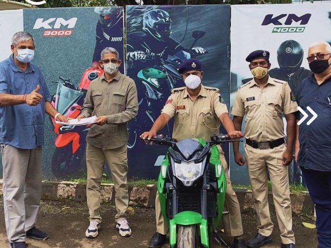 Goa Police Kabira Motrorcycles 1
