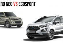 Mahindra Bolero Neo vs Ford EcoSport 1