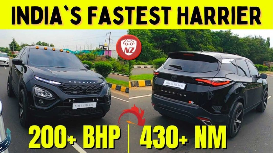 Modified Tata Harrier Engine Remap