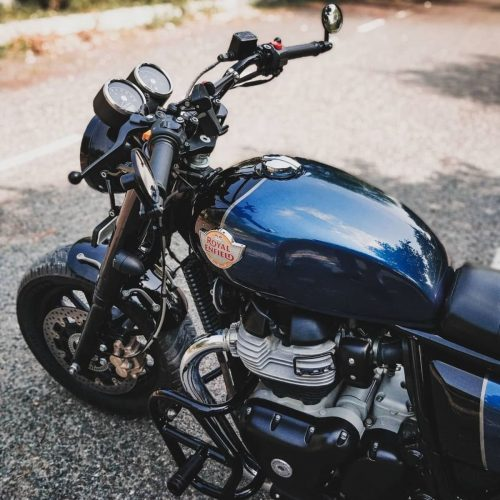 Neev Motorcycles custom Royal Enfield Interceptor 650 1