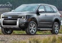 Next Generation Ford Endeavour rendering