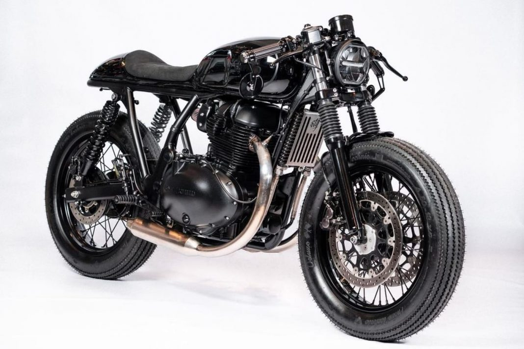Royal Enfield Continental GT650 modified STG Tracker 1