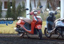 Yamaha Fascino 125 hybrid img1