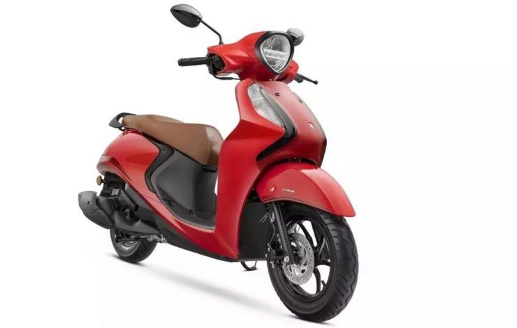 Yamaha Fascino 125 hybrid img2