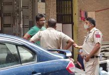 Car Driver Hits Cyclist in New Delhi