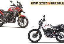 Honda CB200X VS Hero Xpulse 200