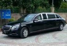 President Ramnath Kovind Mercedes-Maybach S600 Pullman Guard