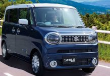 Suzuki WagonR Smile Front 3 Quarters