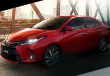 Toyota Vios front three quarter