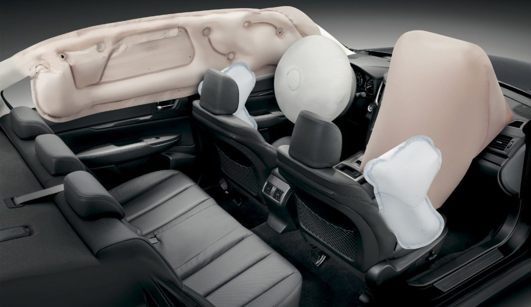 car with 6 airbags