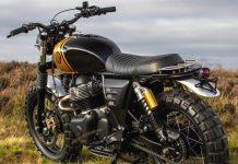 custom Royal Enfield 650 scrambler Soldoutmotorcycles